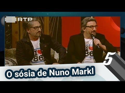 O sósia de Nuno Markl | 5 Para a Meia-Noite | RTP