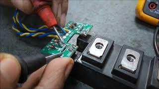IGBT testing procedure in Microtek Hi end UPS Jumbo SW Series