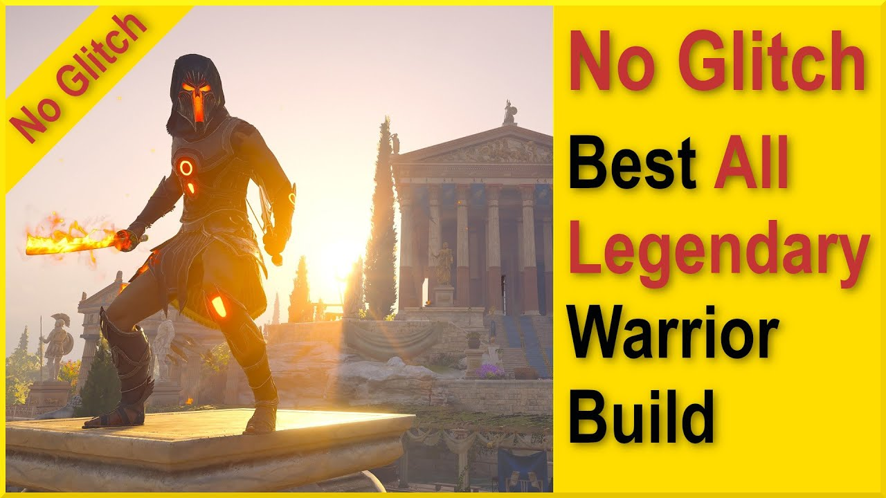 Download Assassins Creed Odyssey, Best Legendary Warrior Build, 12 Million Damage, 100% Crit Chance, no epic