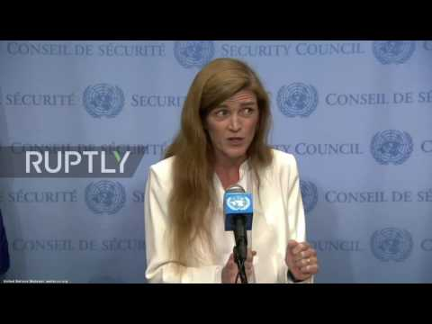 UN: US ambassador dismisses emergency meeting on US-led airstrikes as 'cynical stunt'