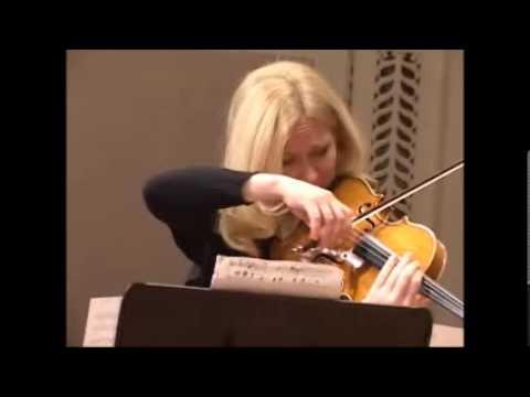 SCHUMANN. Adagio & Allegro (fragments) ANNA SEROVA - viola, IRINA MOROZOVA - piano