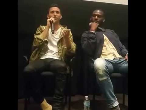 KICKS movie sneak screening and Q&A with actors Kofi Siriboe and Christopher Wolf Meyer (Pt. 2)