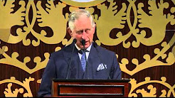 The Prince of Wales makes a speech to open the Commonwealth Heads of Government Meeting (CHOGM)