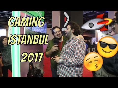 GAMING İSTANBUL 2017'DEYDİK  // Fuar, Halay, Cosplay, Oyun Manzaraları