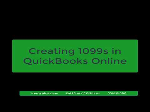 How To Prepare And Print 1099 Forms Using QuickBooks Online