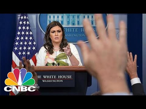 White House Holds Daily Press Briefing — Wednesday Feb. 7, 2018 | CNBC