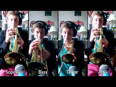 20th Century Fox Fanfare for Brass Quartet