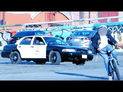 Crazy Cop Prank