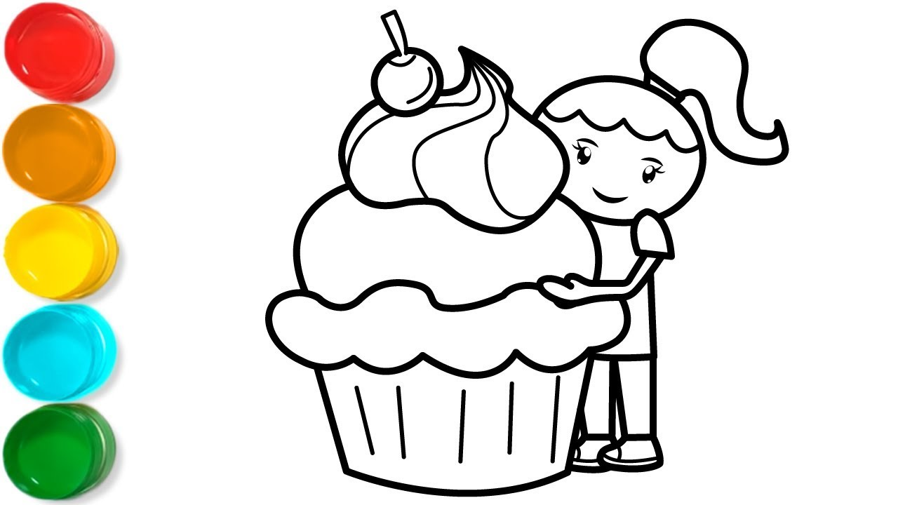 Free Adult Coloring Book Page #Halloween Cupcakes by Blue Star ... | 720x1280