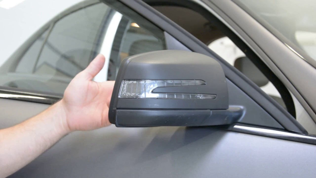 Mercedes Benz C Class Mirror Cover Removal Youtube