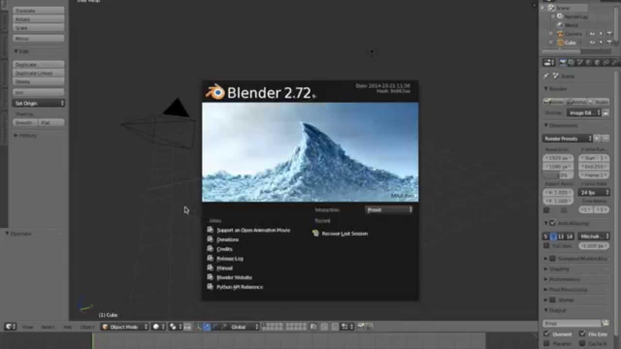 Reduce  STL or  OBJ File Size Using Blender