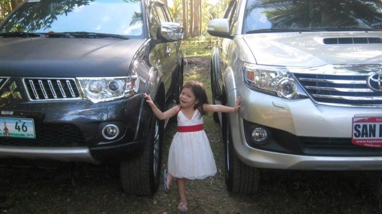 Toyota Fortuner 2013 & Mitsubishi Montero 2012 - YouTube