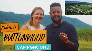 BEST CAMPGROUND IN CENṪRAL PA / BUTTONWOOD