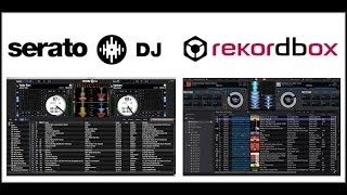 REKORDBOX VS SERATO