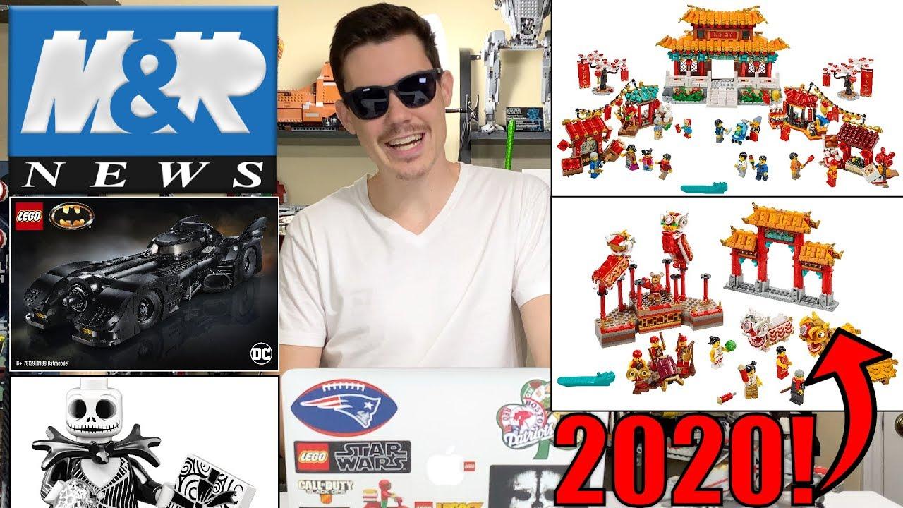 NEW LEGO Nightmare Before Christmas Set? LEGO 1989 Batmobile Revealed!   LEGO NEWS!