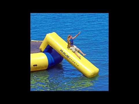 Aqua Slide Attachment For Water Trampoline - How To