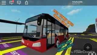 | Roblox Bus Transport Union| Vitaru QBus Urban 2019 Euro 6 Showcase