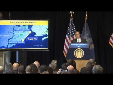 Staten Island Seawall Announcement