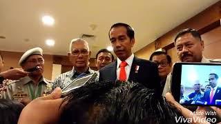 Wawancara Presiden Jokowi