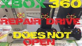 réparation lecteur xbox 360 ne s'ouvre plus / xbox 360 repair drive does not open