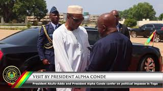 Visit by President Alpha Conde