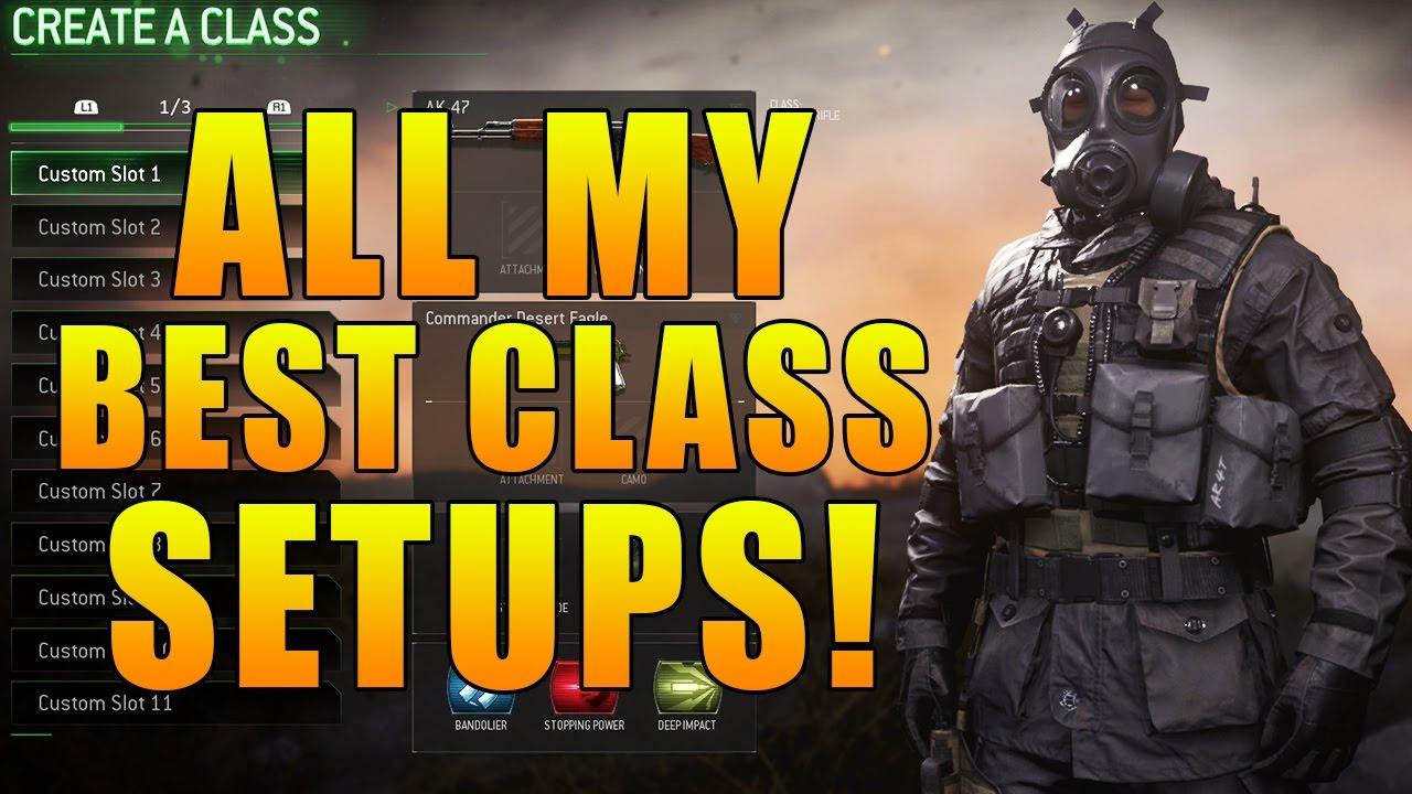 Modern Warfare Remastered My Top 10 Best Class Setups