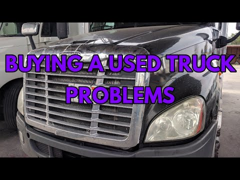 Buying a used truck tractor common problems Freightliner Kenworth Volvo PETERBILT international