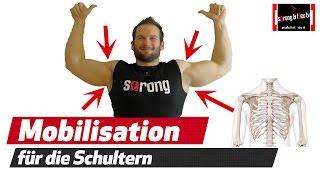 Schulterschmerzen Übungen - Shoulder Mobility