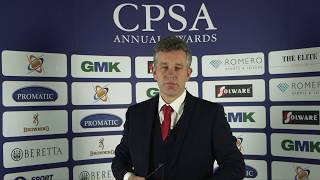 CPSA Awards 2019 - Richard Faulds MBE, Special Contribution Award