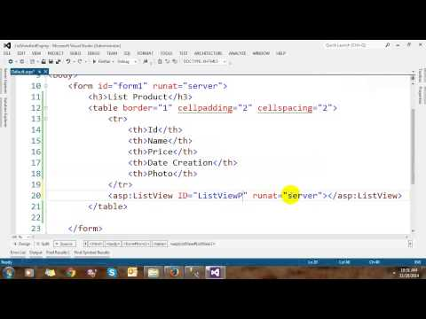 ListView And DataPager Controls In ASP.NET