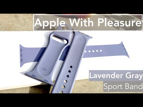 Lavender Gray Sport Band - Apple Watch Band
