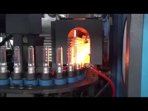 AUTOMATIC PET BOTTLE BLOWING MACHINE 2 CAVITY