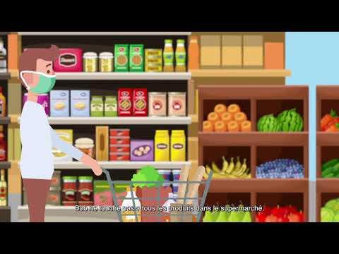 Covid-19: Les conseils pratiques pour faire ses courses tout en protégeant sa santé