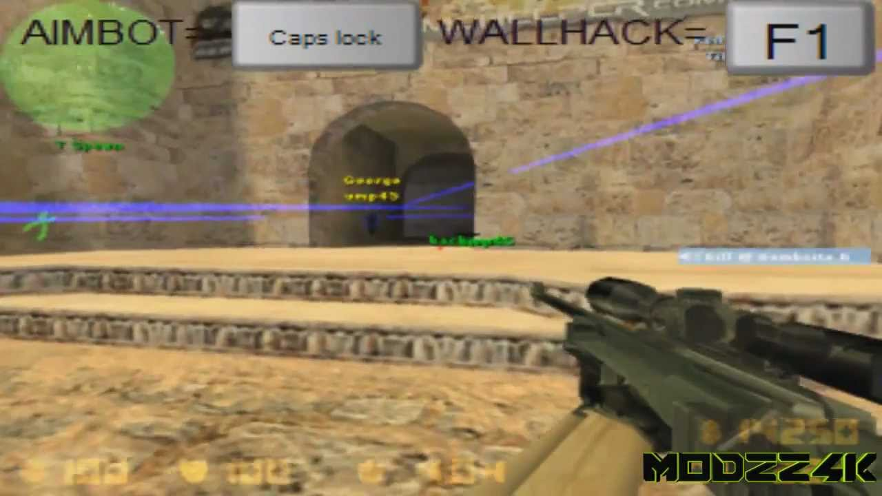 wallhack cs 1.6 f1