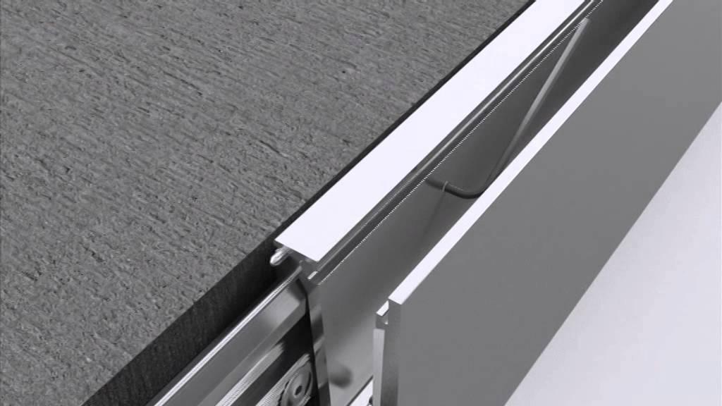 q railing easy glass evo youtube. Black Bedroom Furniture Sets. Home Design Ideas