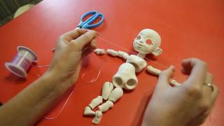 OlVik repairing BJD. Перетяжка рук у нашей БЖД куклы.