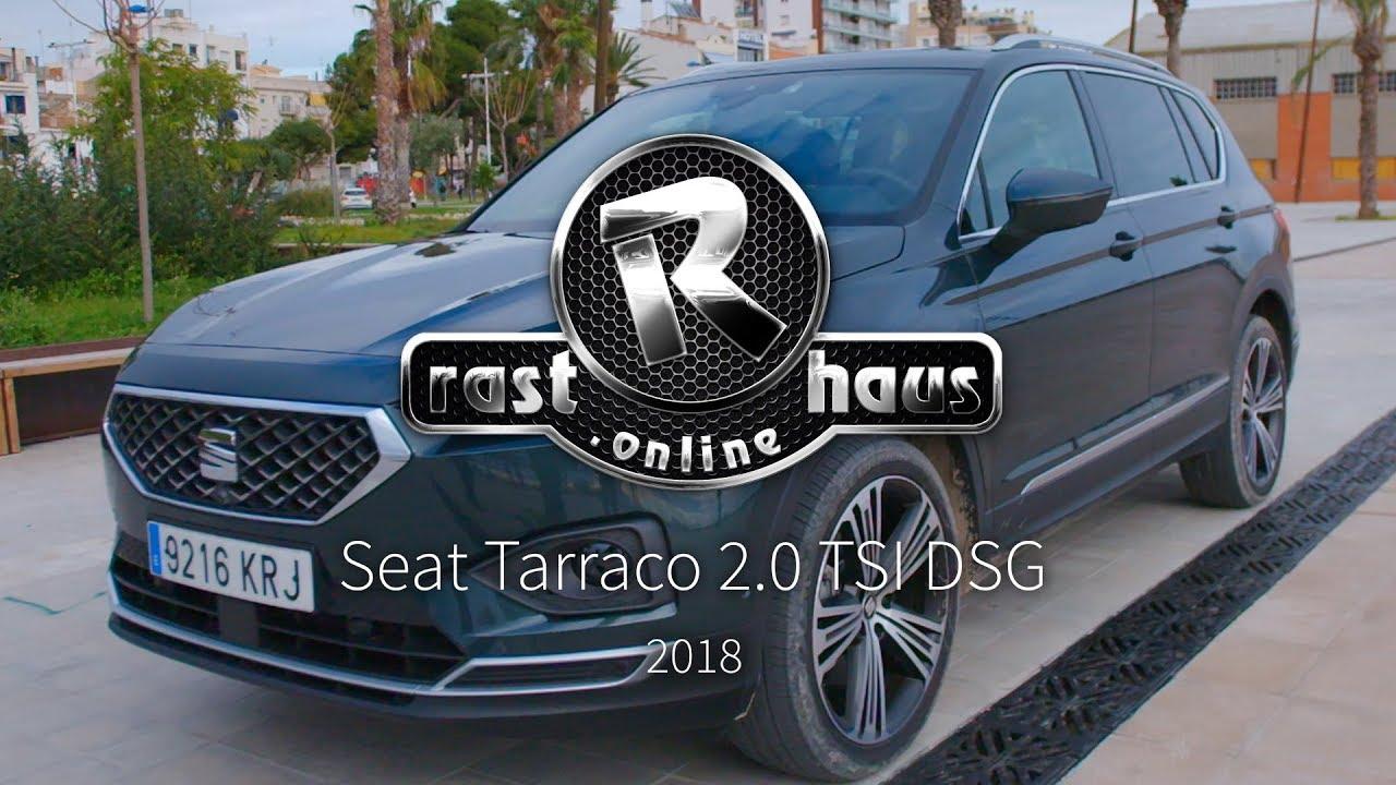 seat tarraco 2 0 tsi dsg allrad test 2018 youtube. Black Bedroom Furniture Sets. Home Design Ideas