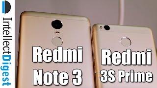 Xiaomi Redmi 3S Prime VS Redmi Note 3 Comparison- What Is Different?
