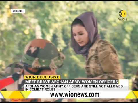 WION Exclusive: Meet brave Afghan army women officers