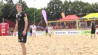 Beach Kings Emmen vs. Winti Panthers 9.-10. August in Liestal.