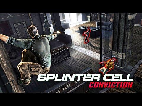 Splinter Cell Conviction - Kobin Mansion (Realistic, No Mark and Execute, Aggressive Stealth)
