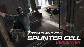 Splinter Cell Conviction - Kobin Mansion (Realistic, No Mark and Execute, Aggressive Stealth)