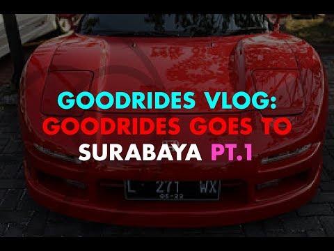 GOODRIDES VLOG // GOODRIDES GOES TO SURABAYA pt.1