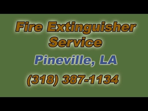 Fire Extinguisher Service Pineville LA