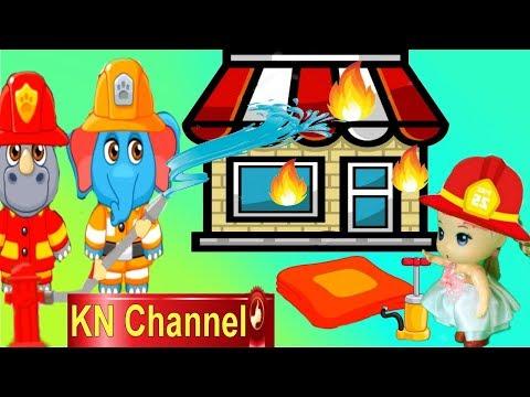 Trò chơi KN Channel BÚP BÊ TẬP LÀM LÍNH CỨU HỘ CỨU HỎA tập 2