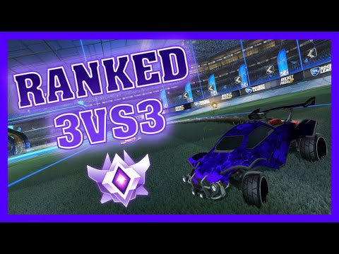 DUO Q AVEC UN JOUEUR PRO ! - Rocket League RANKED thumbnail