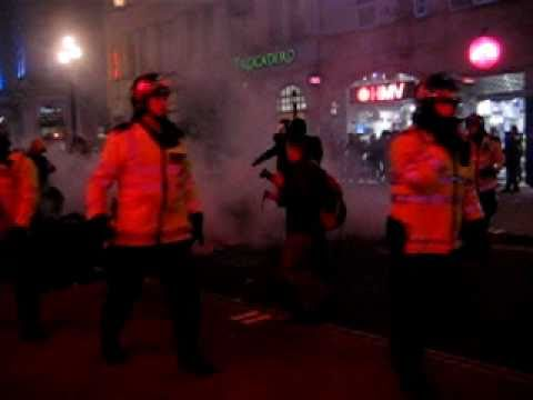 26th March - fires on Coventry Street nr Piccadilly Circus