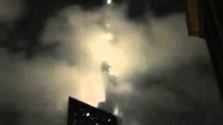 Burj Khalifa on fire - Just a fog
