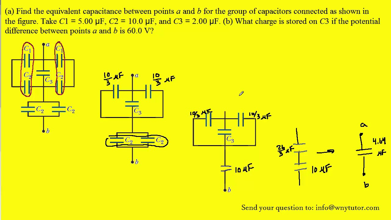 consider the following figure find the equivalent capacitance youtube rh youtube com