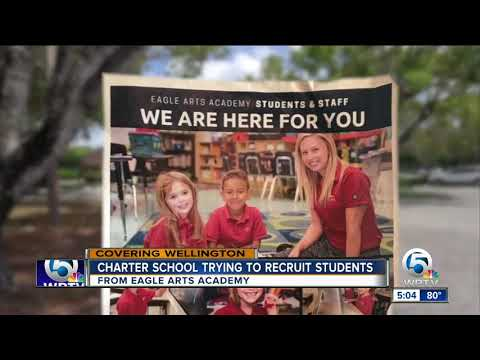 Charter school trying to recruit students from Eagle Arts Academy
